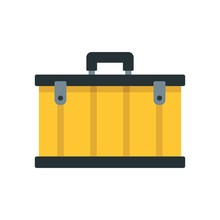 Tool Box Icon. Flat Illustrati...