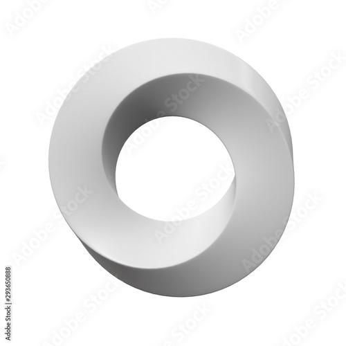 Fotografía  Mobius strip ring sacred geometry