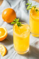 Homemade Orange Crush Cocktail