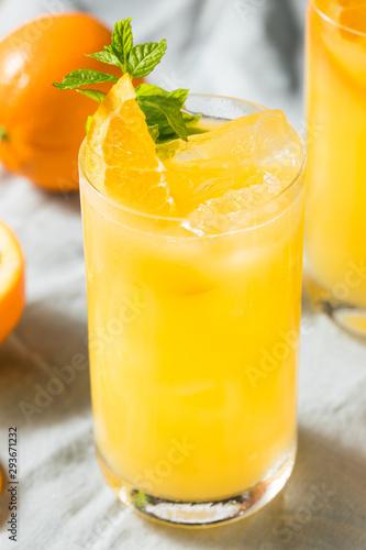 Homemade Orange Crush Cocktail Fototapet