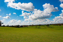 Panoramic View Across Fields T...