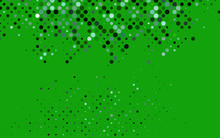 Light Green Vector Texture With Disks. Blurred Decorative Design In Abstract Style With Bubbles. Design For Posters, Banners.