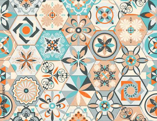 Fototapeta Talavera pattern