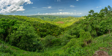 Panorama View Of Omo Valley, Omorati Etiopia, Africa Nature And Wilderness