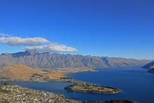 Lake Wakatipu With Kelvin Heights And Queenstown