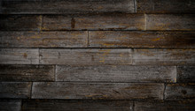 Cool Dark Brown Reclaimed Wood...