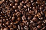 Fototapeta Kuchnia - Dry Organic Coffee Beans