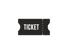 Ticket Icon Symbol Vector
