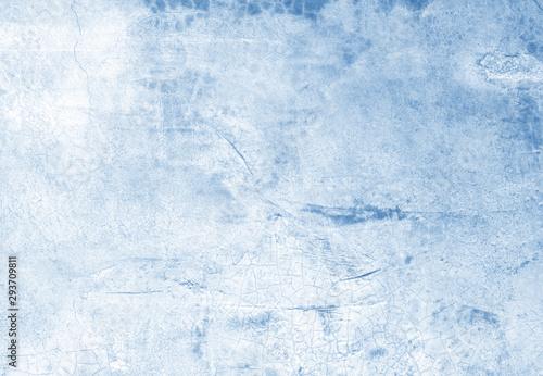 Valokuvatapetti Beautiful Abstract Grunge Decorative Navy Blue Dark Stucco Wall Background