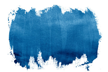 paint blue strokes brush stroke color texture with space for your own text