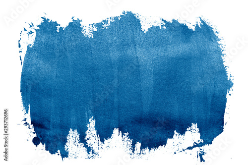 paint blue strokes brush stroke color texture with space for your own text Canvas