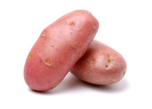 New Red Potato Isolated On Whi...