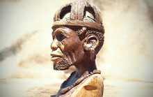 African Art. Close Up Of Afric...