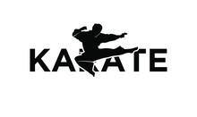 Karate Silhouette Illustration...