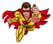 A Super Plumber Handyman Hero ...