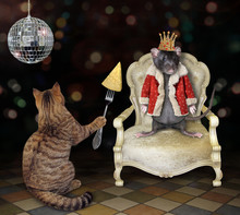 The Cat Feeds The Rat King Wit...