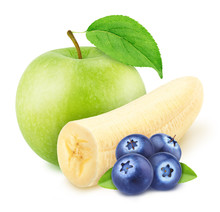 Composition With Apple, Banana...