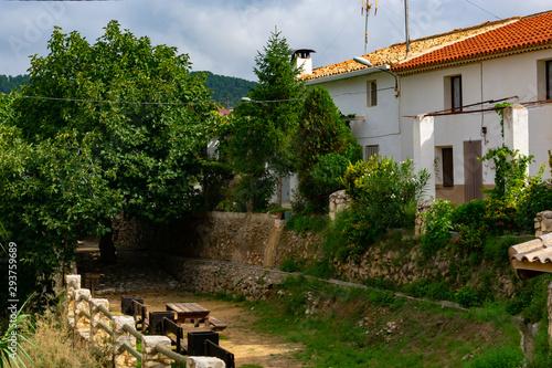 Aldea de Benizar, situado a mas de 800 sobre el nivel del mar , pertenece a Mora Wallpaper Mural