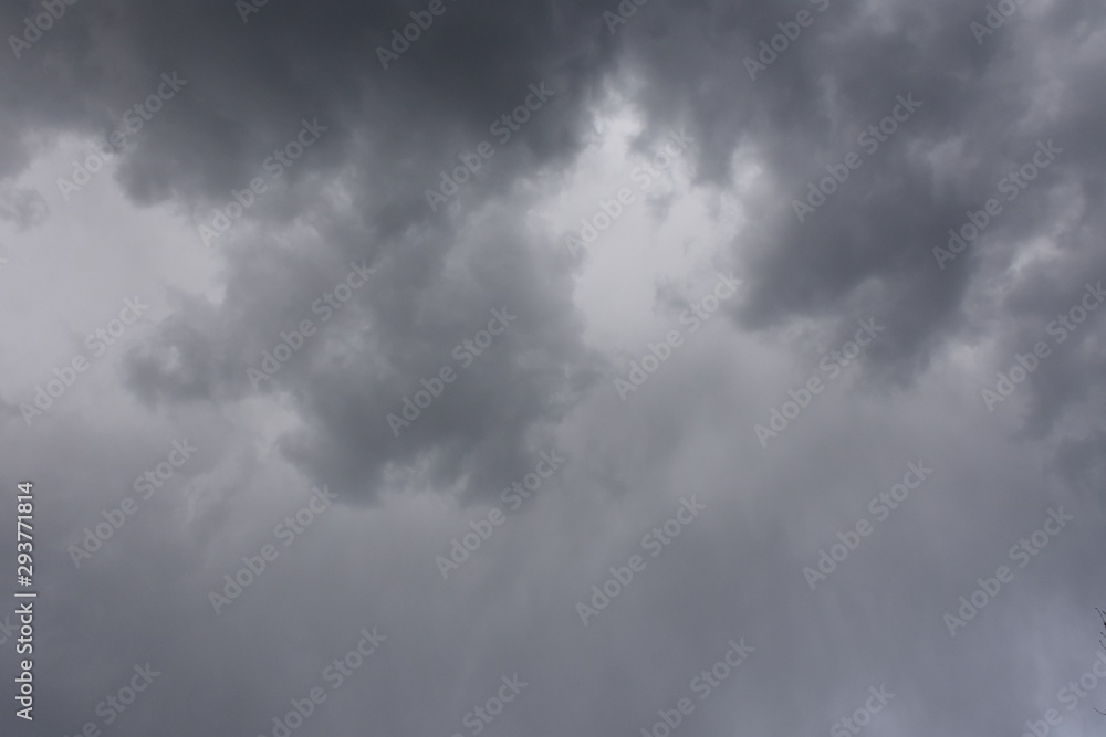 Fototapety, obrazy: blue sky and white clouds