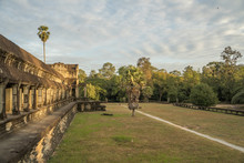 Angkor Wat Temple, The Biggest Hinduist Temple In The World, Unesco World Heritage, Siem Reap, Cambodia