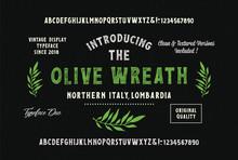 """Olive Wreath"". Original Handm..."