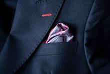 Handkerchief In A Black Suit P...