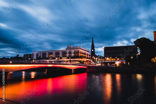 Foto auf Gartenposter Stockholm Ness Bridge in Inverness, Scotland