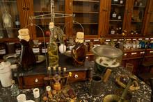 Bottles And Jars Of Medicine I...