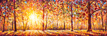 Autumn Panorama. Original Oil ...