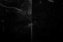 Distressed Black Scratchy Film Chalkboard Texture - Image