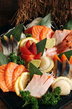 Traditional Japanese Sashimi