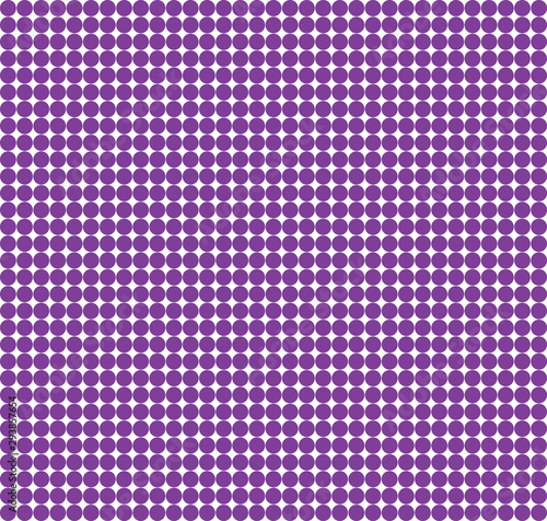 Violet background with white polka dots