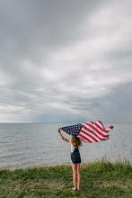 The Flag And The Girl