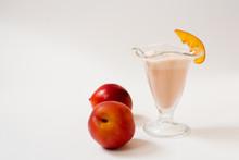 Milkshake Of Organic Nectarine...
