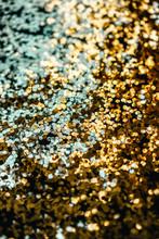 Golden Spark Background