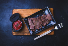 Rolled Beef Steak With Tomato ...