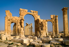 The Monumental Arch In The Eas...