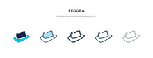 Fedora Icon In Different Style...