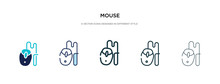 Mouse Icon In Different Style ...