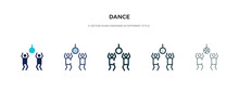 Dance Icon In Different Style ...