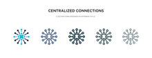 Centralized Connections Icon I...