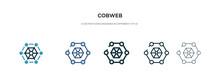 Cobweb Icon In Different Style...