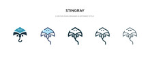 Stingray Icon In Different Sty...