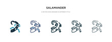Salamander Icon In Different S...