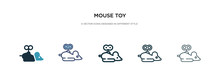 Mouse Toy Icon In Different St...
