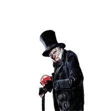 MR. Scrooge - Eine Weihnachtsgeschichte - Illustration