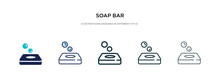 Soap Bar Icon In Different Sty...