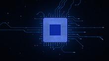 Microchip CPU Processor Turnin...