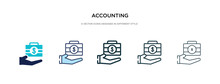 Accounting Icon In Different S...