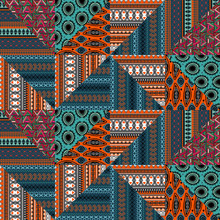 Ethnic Seamless Pattern With T...